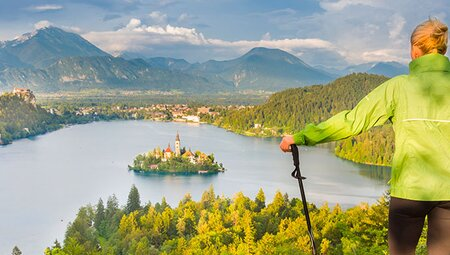 Slovenia: Hike, Bike & Raft
