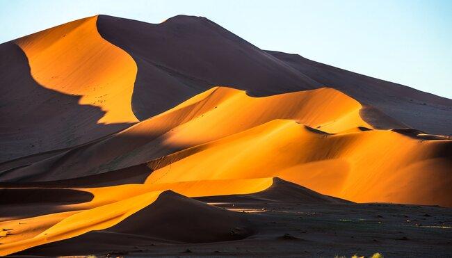 Silvester in Namibia