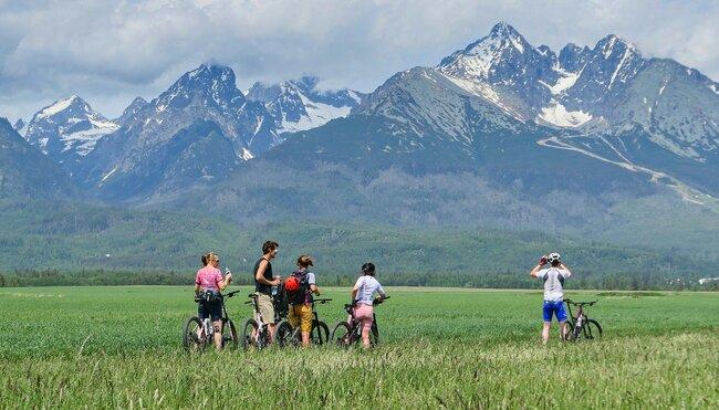 E-Bike & Hike in der Hohen Tatra - das kleinste Hochgebirge der Welt