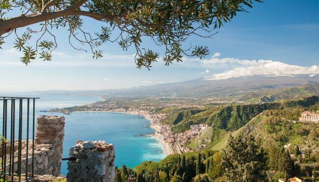 Sizilien - Silvester im Schatten des Ätna