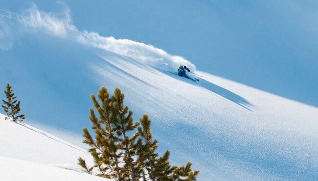 Tiefschneewoche im Engadin - die besten Freeride-Hänge in St. Moritz