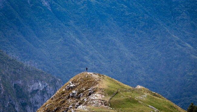 Auf der Via Dinarica durch Bosniens Bergwelt