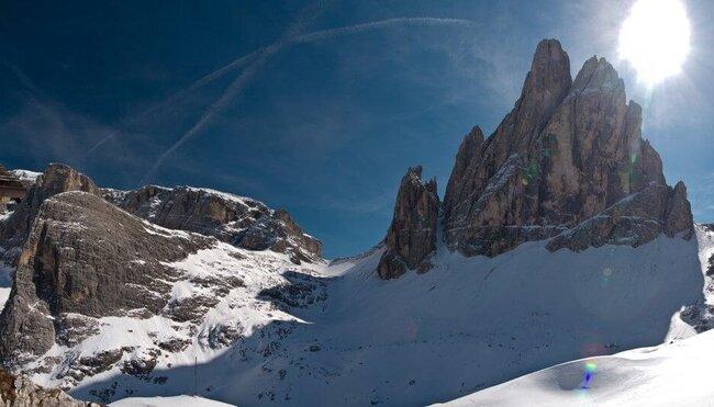 Winterwandern in den Dolomiten - mittel