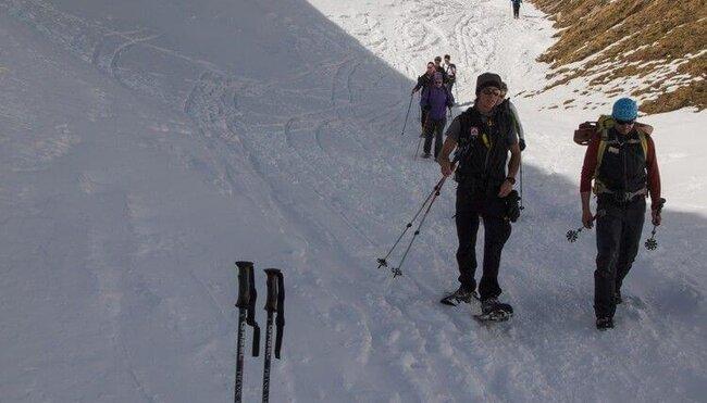 Winterwandern in den Dolomiten - anspruchsvoll