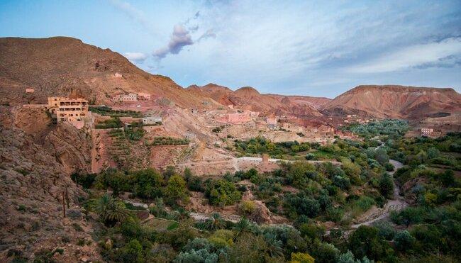Silvester in der Wüste Marokkos