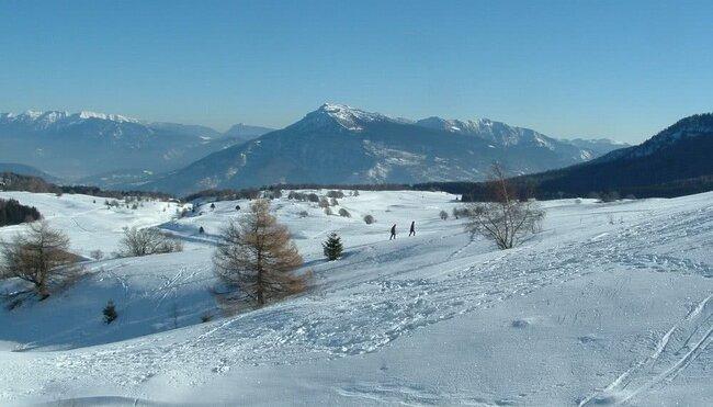 Silvester am Monte Bondone