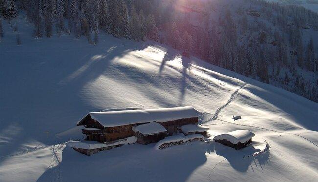 Schneeschuhwandern am Achensee zwischen Rofan und Karwendel