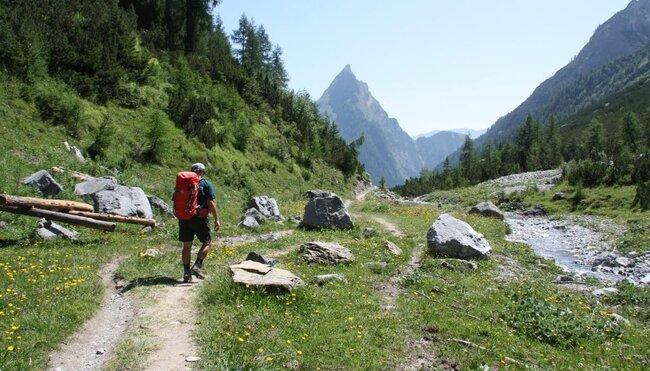 Alpenüberquerung - am E5 von Oberstdorf nach Meran für Singles und Alleinreisende