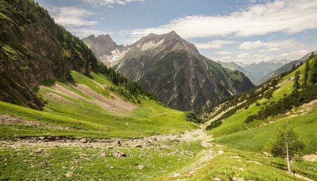 Alpenüberquerung - am E5 von Oberstdorf nach Meran