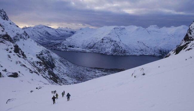 Norwegen - Skitouren auf den Lofoten