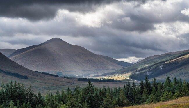 Komforttrekking auf dem West Highland Way