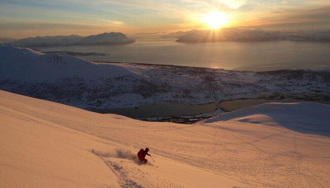 Norwegen - Skitouren in den Lyngen Alpen und rund um Tromsø
