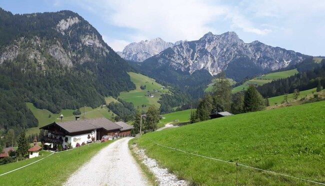 Salzburger Kalkalpen gemütlich erwandern