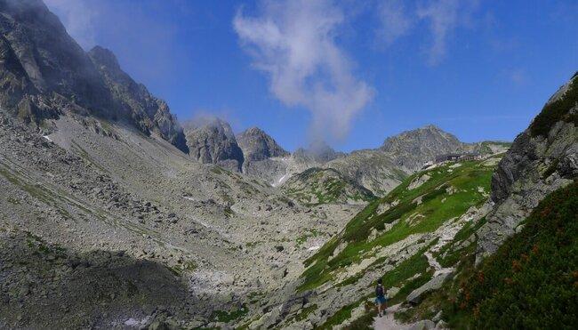 Der Tatra-Trek - individuelles Trekking durch die Hohe Tatra