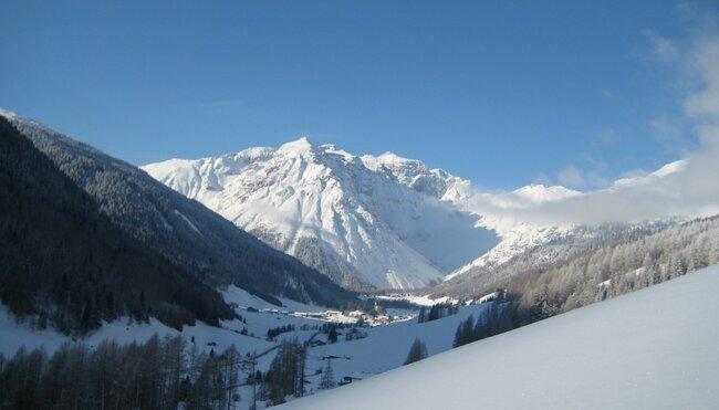 Schneeschuhwandern im Obernbergtal