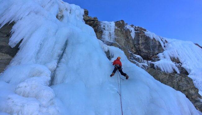 Grundkurs Eisklettern für Einsteiger im Nationalpark Hohe Tauern