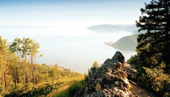 Baikalsee - die blaue Perle Sibiriens