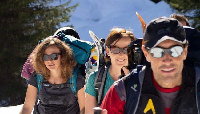 Winterliche Alpenüberquerung von Mittenwald nach Sterzing