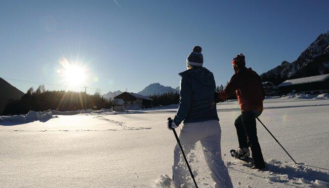 Winter- & Schneeschuhwandern am Mieminger Plateau