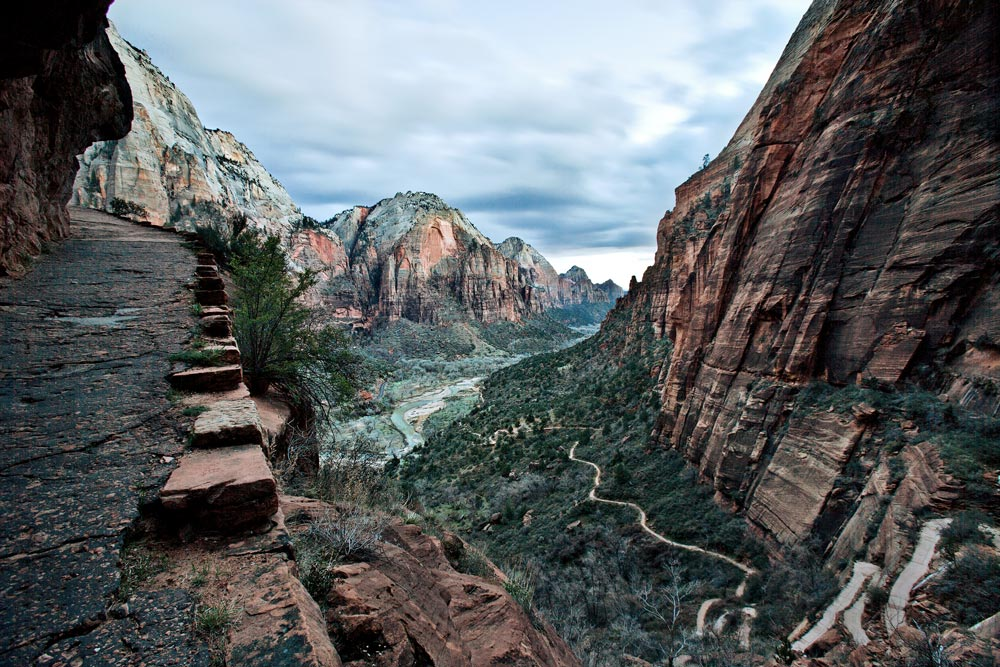 Angels Landing Tal