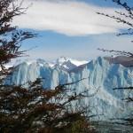 Perito Moreno Gletscher aus der Ferne