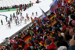 Biathlonweltcup in Antholz