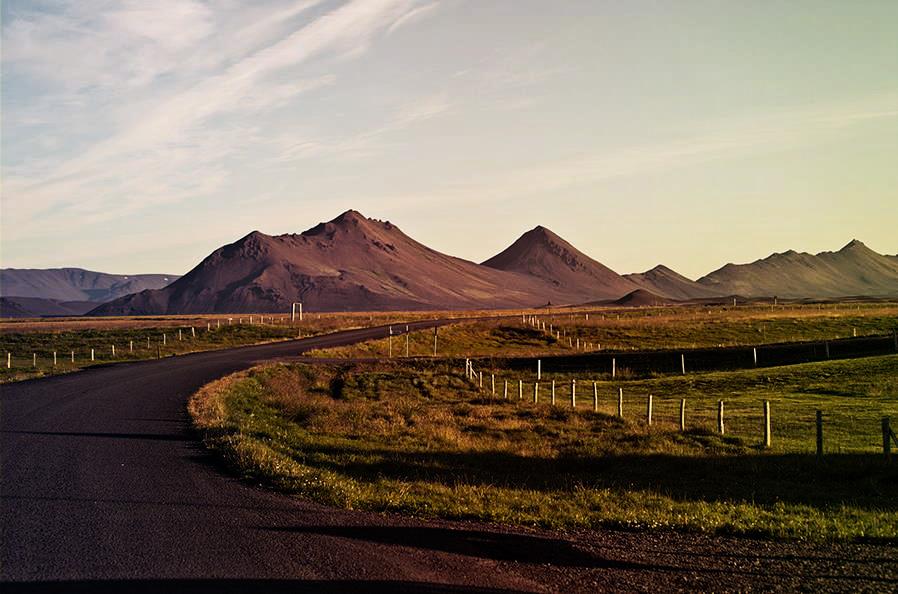 Islands Hügellandschaft