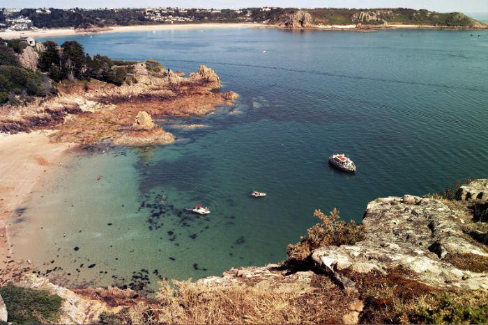 Bucht von Jersey