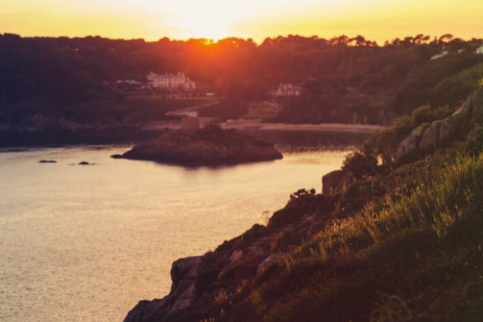 Sonnenuntergang Jersey