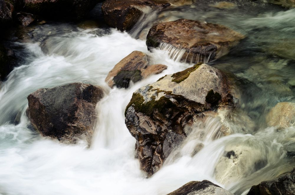 Von Oberstdorf nach Meran: Am Simmswasserfall