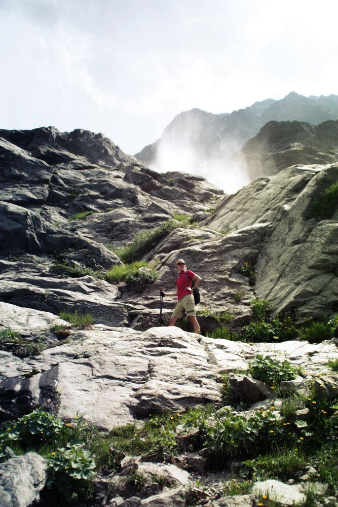 Aufstieg zur Braunschweiger Hütte
