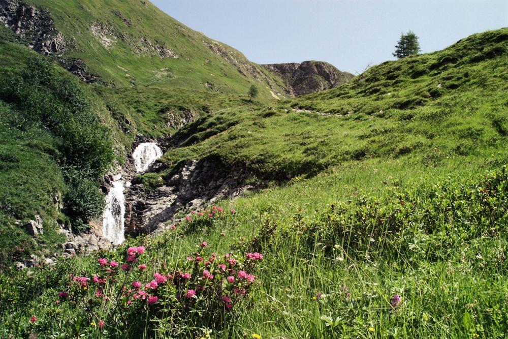 Bei der Alpenüberquerung durch die Lechtaler Alpen
