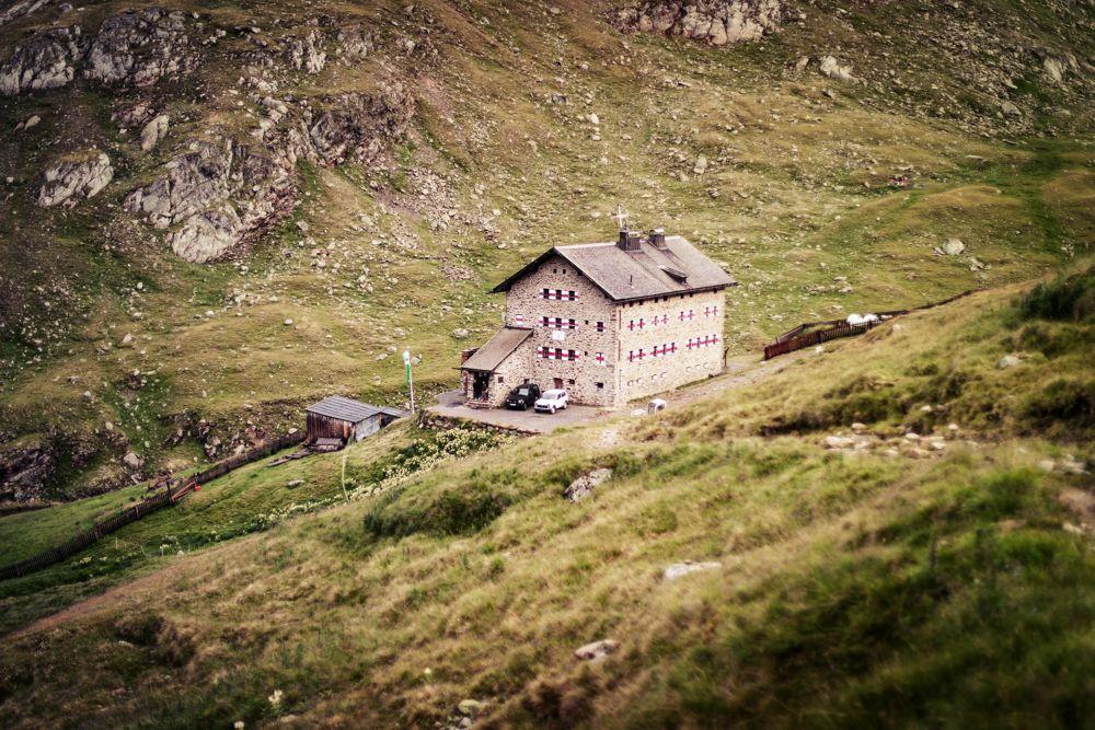 Die Martin Busch Hütte