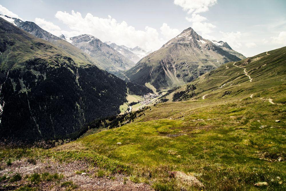 Höhenweg nach Vent