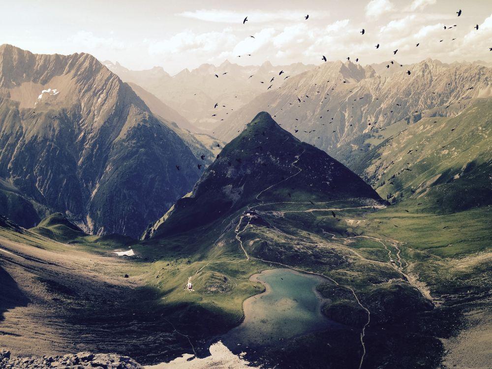 Alpenüberquerung: Vorbei an der Memminger Hütte