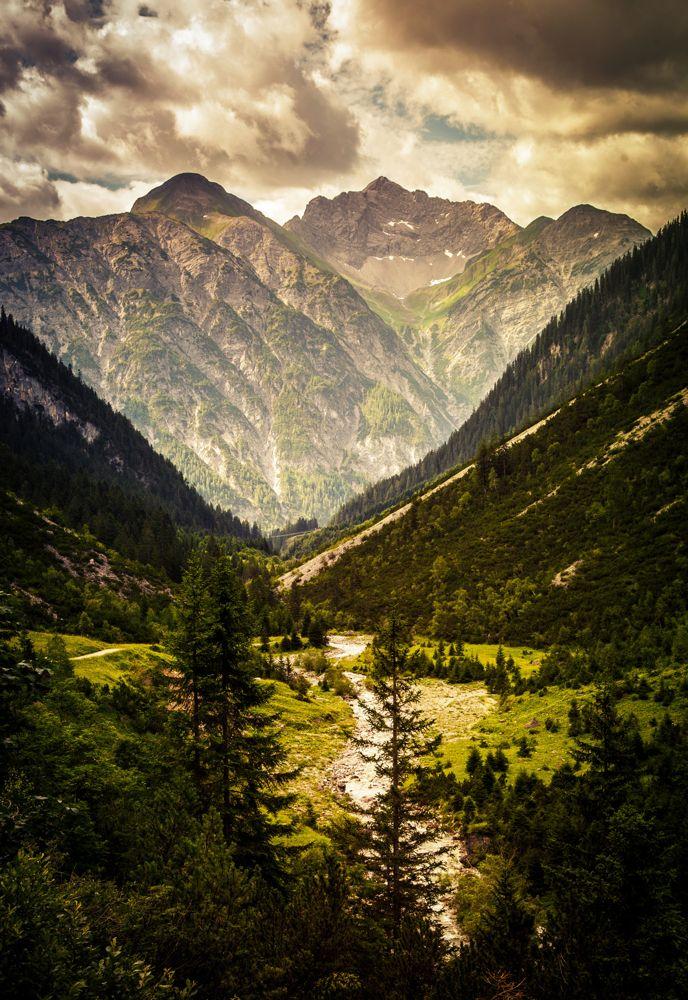 Gewitterstimmung bei der Alpenüberquerung