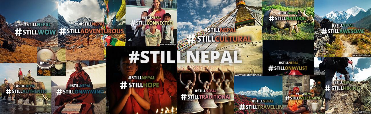 Mit 18 Kombinationen aus Nepals schönsten Eigenschaften konntet ihr an die Attraktivität als Reiseland erinnern