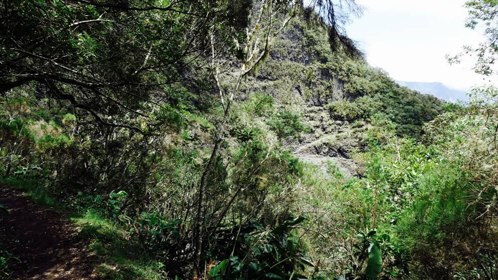 Kraterwände La Réunion