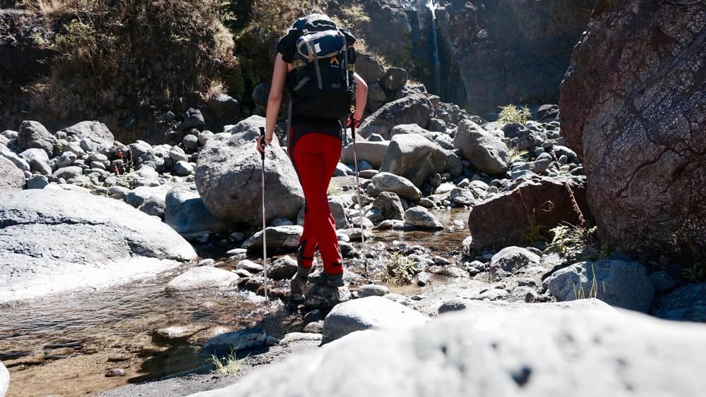 Flussquerung La Réunion