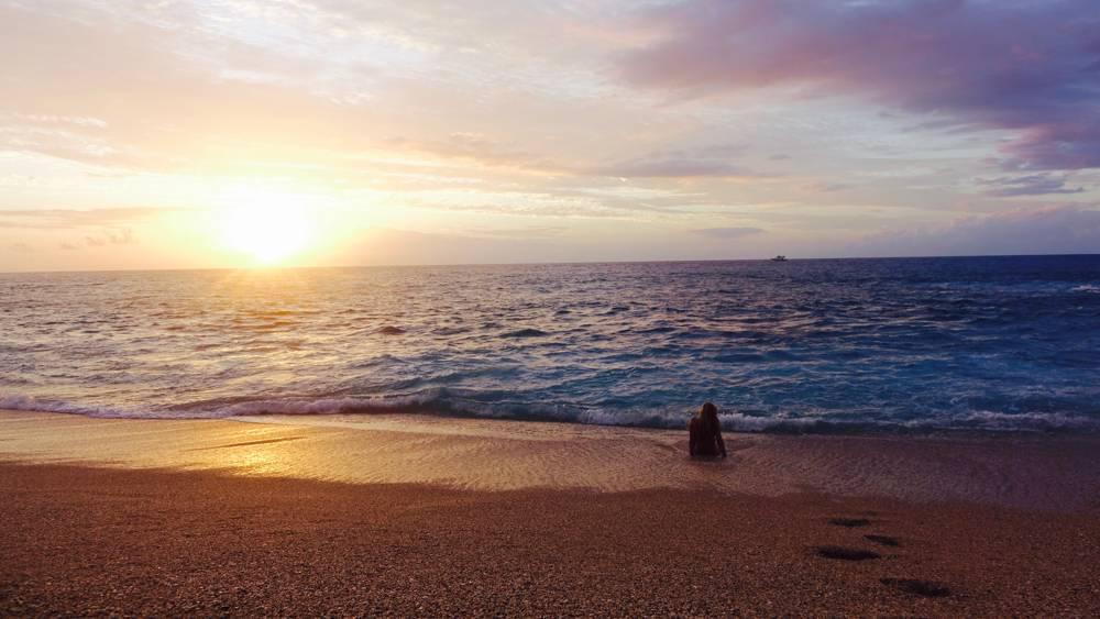 Strand von La Réunion