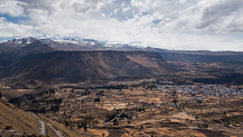 Colca Tal und Chivay