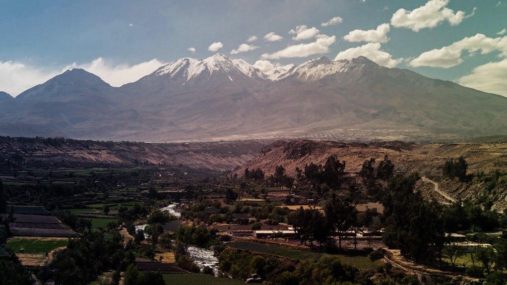 Abstieg nach Ollantaytambo