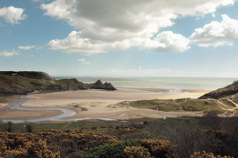 Three-Cliffs-Bay-South-WalesUK