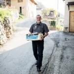 Gastgeber Oliviero am Monte Bondone