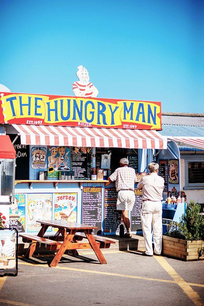 Kulinarik gehört dazu auf Jersey