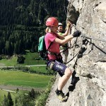 Klettersteig Stafflacher Wand