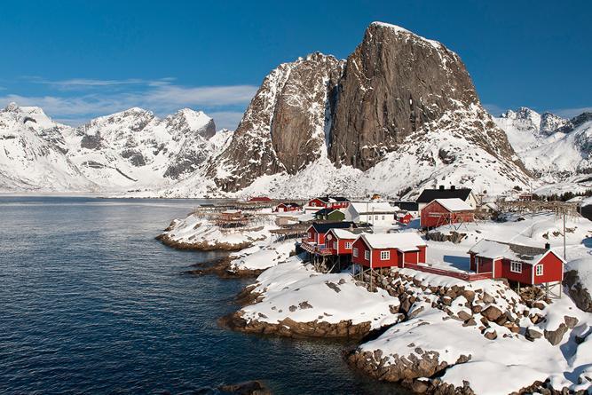 Wandern auf den Lofoten