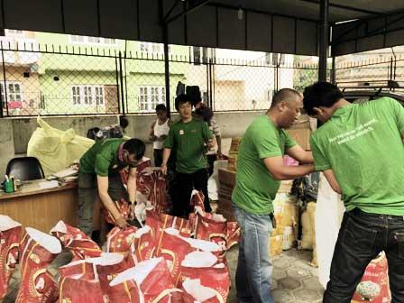 Spendengelder Nepal