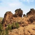 Karge Bergwelt Gran Canaria