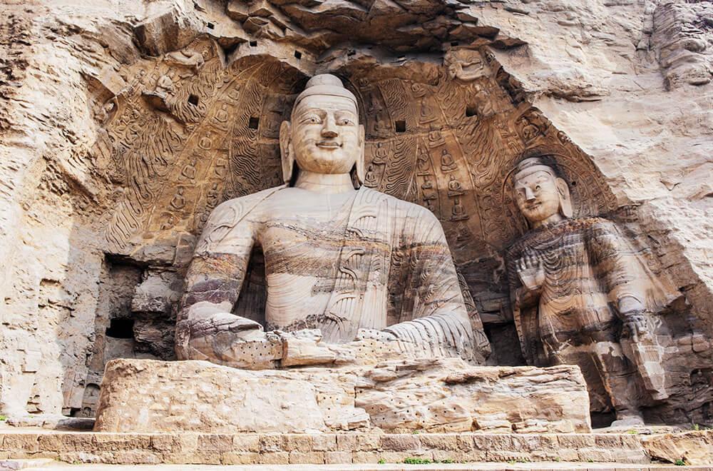 China Yungang Weltkulturerbe